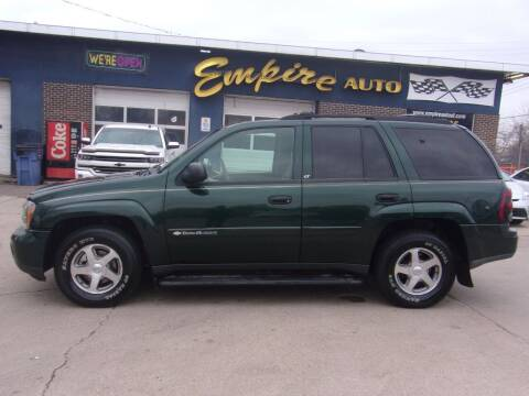 2003 Chevrolet TrailBlazer for sale at Empire Auto Sales in Sioux Falls SD