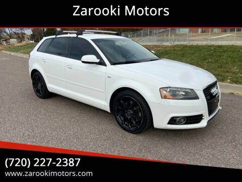 2011 Audi A3 for sale at Zarooki Motors in Englewood CO