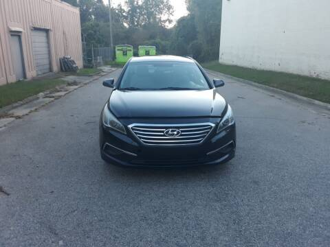 2017 Hyundai Sonata for sale at Horizon Auto Sales in Raleigh NC