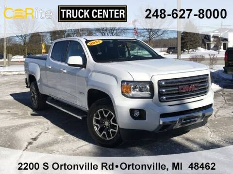 2017 GMC Canyon for sale at Carite Truck Center in Ortonville MI