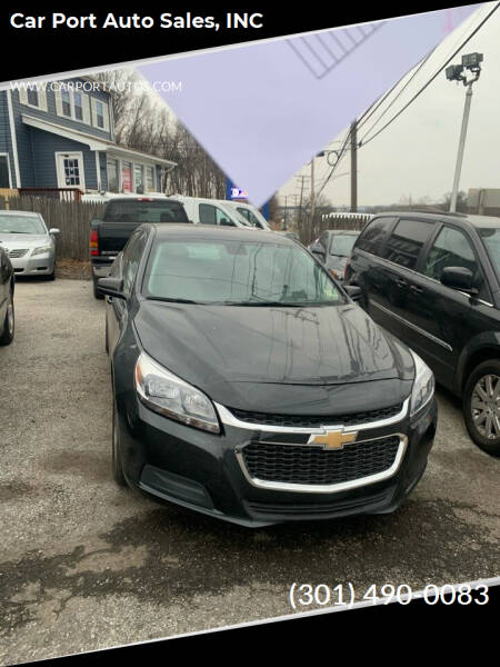 2016 Chevrolet Malibu Limited for sale at Car Port Auto Sales, INC in Laurel MD