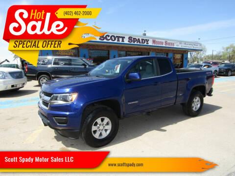 2016 Chevrolet Colorado for sale at Scott Spady Motor Sales LLC in Hastings NE