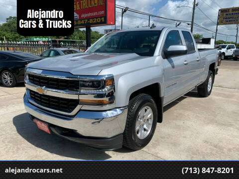 2018 Chevrolet Silverado 1500 for sale at Alejandro Cars & Trucks in Houston TX