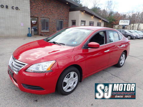 2013 Nissan Sentra for sale at S & J Motor Co Inc. in Merrimack NH