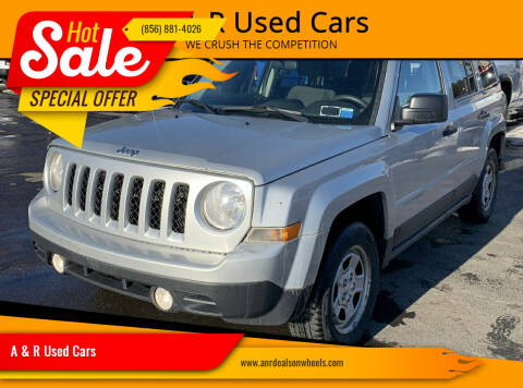 2013 Jeep Patriot for sale at A & R Used Cars in Clayton NJ
