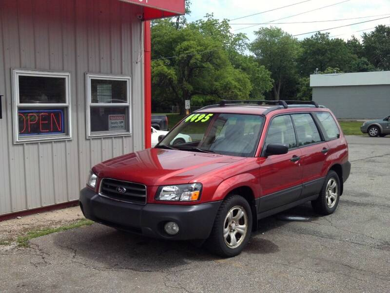 2005 Subaru Forester for sale at Midwest Auto & Truck 2 LLC in Mansfield OH