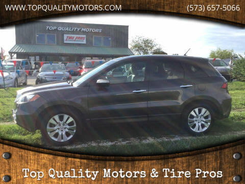 2010 Acura RDX for sale at Top Quality Motors & Tire Pros in Ashland MO