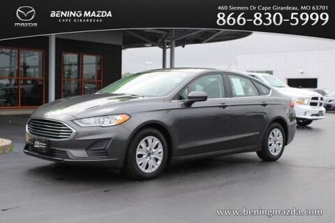2019 Ford Fusion for sale at Bening Mazda in Cape Girardeau MO