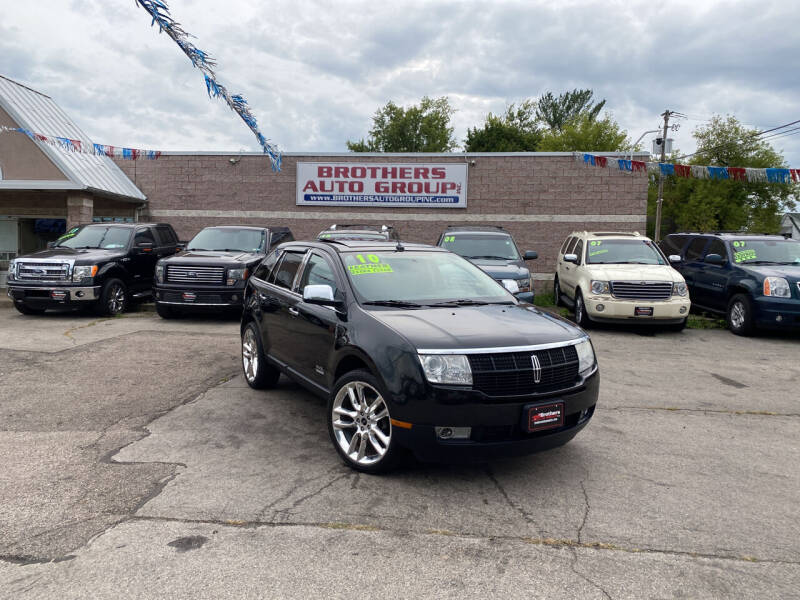 2010 Lincoln MKX for sale at Brothers Auto Group in Youngstown OH