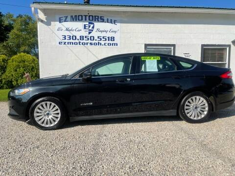2015 Ford Fusion Hybrid for sale at EZ Motors in Deerfield OH