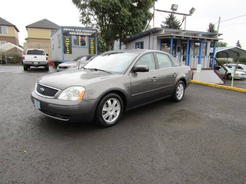 2006 Ford Five Hundred for sale at ARISTA CAR COMPANY LLC in Portland OR