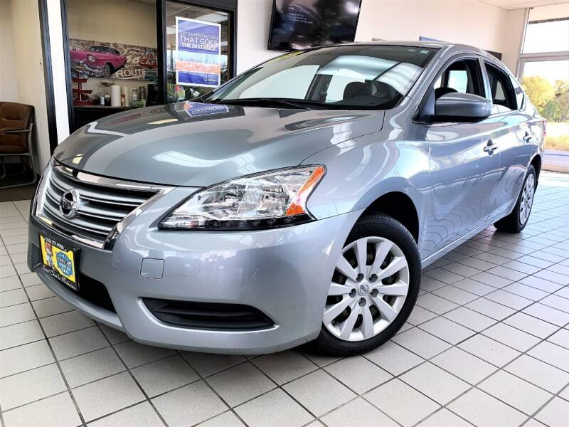 2014 Nissan Sentra for sale at SAINT CHARLES MOTORCARS in Saint Charles IL