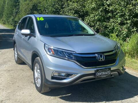 2016 Honda CR-V for sale at Denton Auto Inc in Craftsbury VT