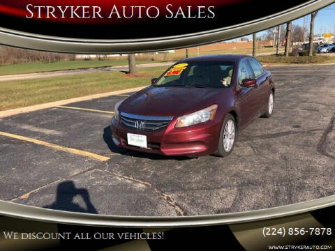 2011 Honda Accord for sale at Stryker Auto Sales in South Elgin IL