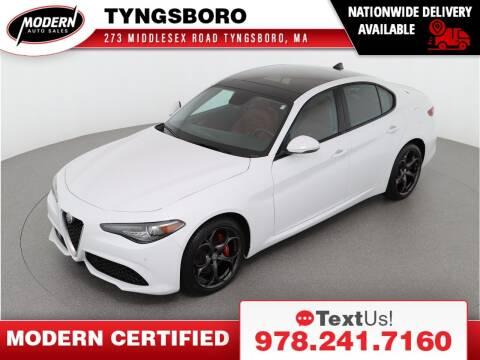 2018 Alfa Romeo Giulia for sale at Modern Auto Sales in Tyngsboro MA