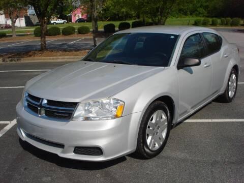 2012 Dodge Avenger for sale at Uniworld Auto Sales LLC. in Greensboro NC
