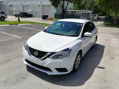 2016 Nissan Sentra for sale at Best Price Car Dealer in Hallandale Beach FL