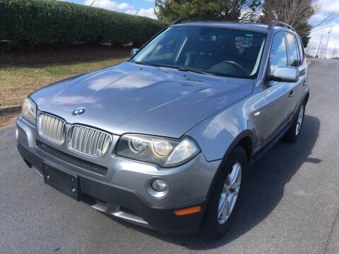 2008 BMW X3 for sale at Atlanta United Motors in Buford GA