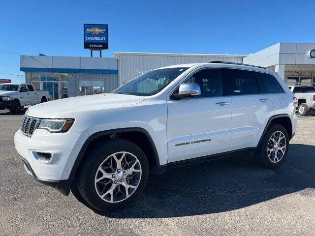 2021 Jeep Grand Cherokee for sale at Bulldog Motor Company in Borger TX