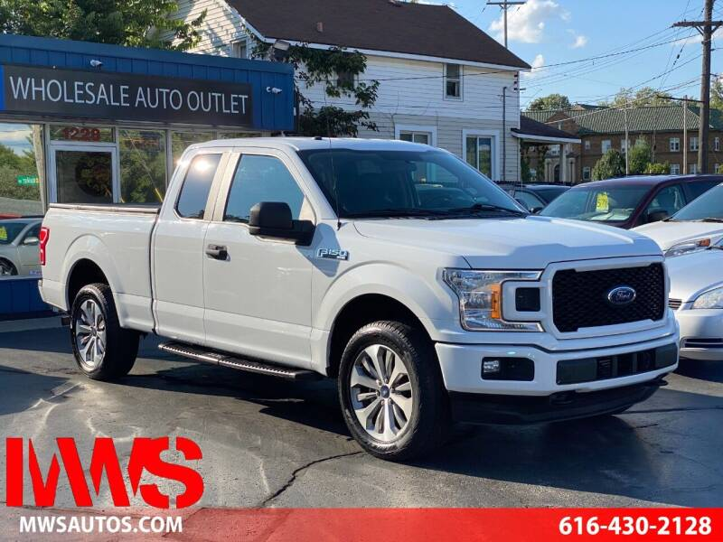 2018 Ford F-150 for sale at MWS Wholesale  Auto Outlet in Grand Rapids MI