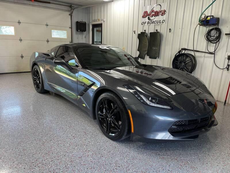 2017 Chevrolet Corvette for sale at D-Cars LLC in Zeeland MI