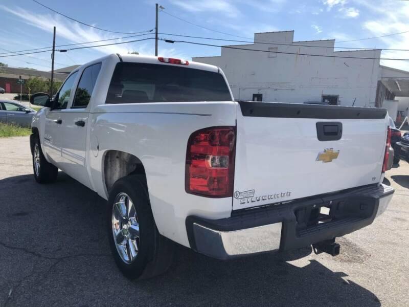 2013 Chevrolet Silverado 1500 for sale at T.K. AUTO SALES LLC in Salisbury NC