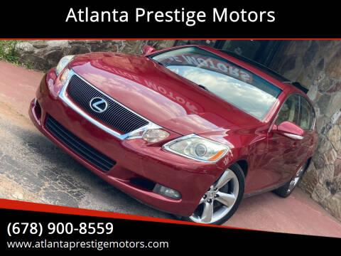 2008 Lexus GS 350 for sale at Atlanta Prestige Motors in Decatur GA