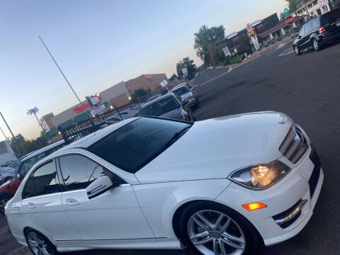 2012 Mercedes-Benz C-Class for sale at Sanaa Auto Sales LLC in Denver CO