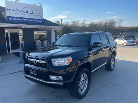 2012 Toyota 4Runner for sale at Maryville Auto Sales in Maryville TN