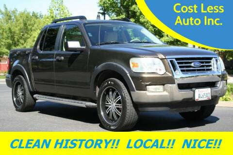 2008 Ford Explorer Sport Trac for sale at Cost Less Auto Inc. in Rocklin CA
