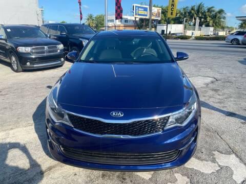 2016 Kia Optima for sale at America Auto Wholesale Inc in Miami FL