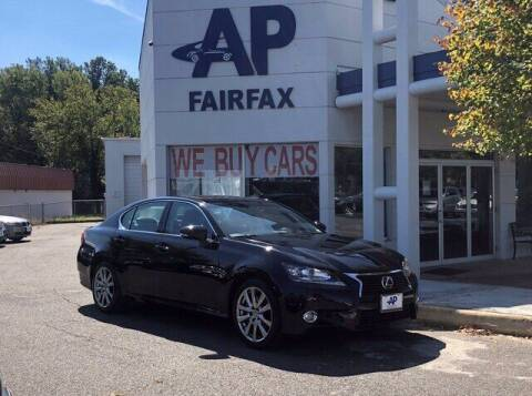 2013 Lexus GS 350 for sale at AP Fairfax in Fairfax VA