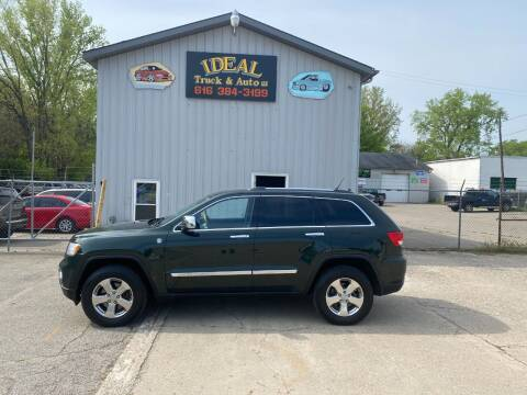 2011 Jeep Grand Cherokee for sale at IDEAL TRUCK & AUTO LLC in Coopersville MI