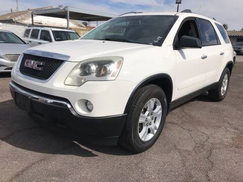 2010 GMC Acadia for sale at Town and Country Motors in Mesa AZ
