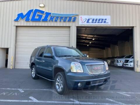 2007 GMC Yukon for sale at MGI Motors in Sacramento CA