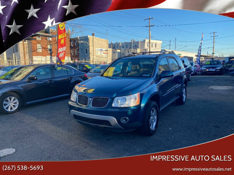 2006 Pontiac Torrent for sale at Impressive Auto Sales in Philadelphia PA