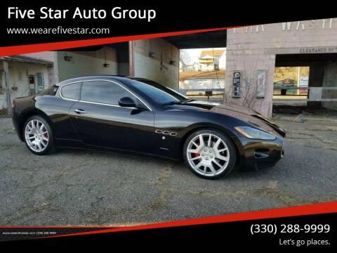 2009 Maserati GranTurismo for sale at Five Star Auto Group in North Canton OH