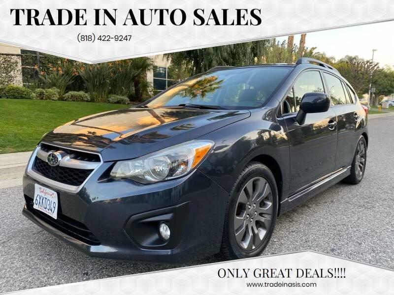 2012 Subaru Impreza for sale at Trade In Auto Sales in Van Nuys CA