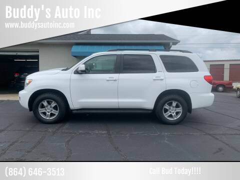 2012 Toyota Sequoia for sale at Buddy's Auto Inc in Pendleton, SC