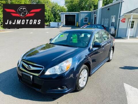 2012 Subaru Legacy for sale at J & J MOTORS in New Milford CT
