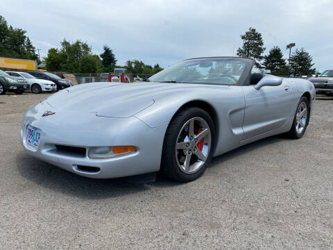 1998 Chevrolet Corvette for sale at Universal Auto Inc in Salem OR
