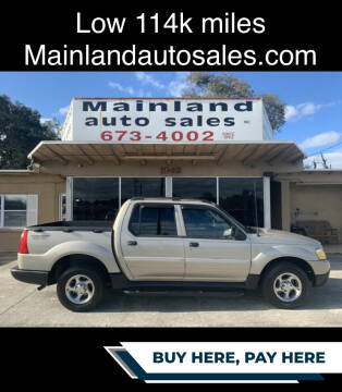 2005 Ford Explorer Sport Trac for sale at Mainland Auto Sales Inc in Daytona Beach FL