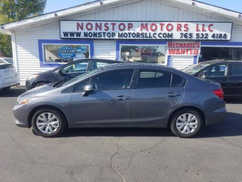 2012 Honda Civic for sale at Nonstop Motors in Indianapolis IN