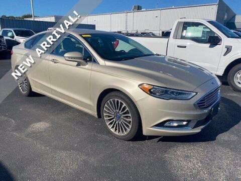 2017 Ford Fusion for sale at Gentilini Motors in Woodbine NJ