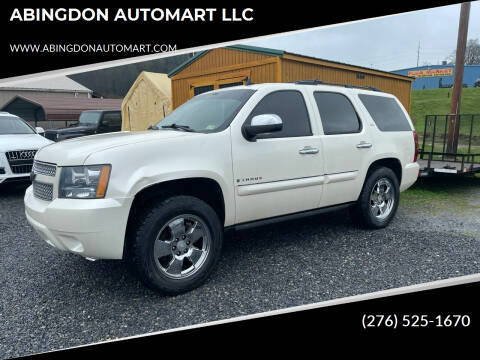 2008 Chevrolet Tahoe for sale at ABINGDON AUTOMART LLC in Abingdon VA