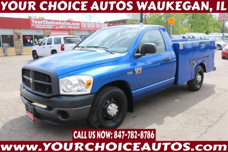 2008 Dodge Ram Pickup 2500 for sale at Your Choice Autos - Waukegan in Waukegan IL