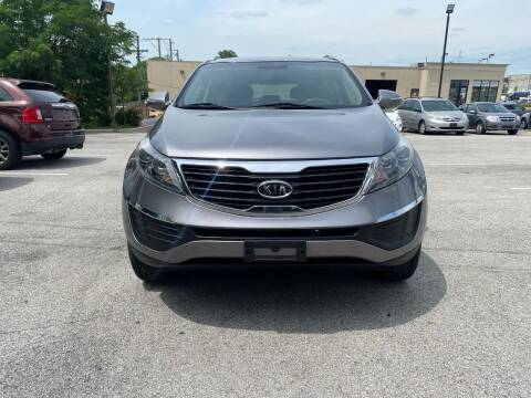 2012 Kia Sportage for sale at Platinum Cars Exchange in Downers Grove IL