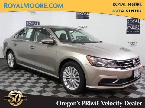 2016 Volkswagen Passat for sale at Royal Moore Custom Finance in Hillsboro OR