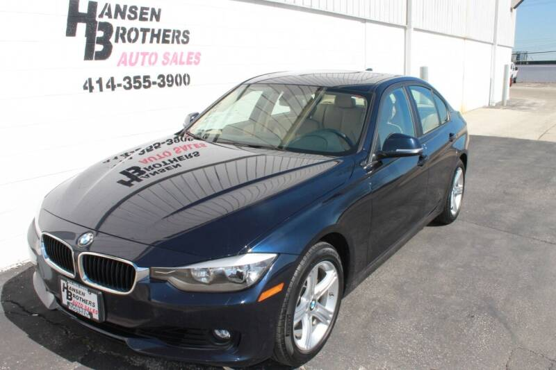 2013 BMW 3 Series for sale at HANSEN BROTHERS AUTO SALES in Milwaukee WI