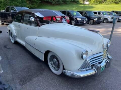 1948 Oldsmobile Model 66 for sale at Hartley Auto Sales & Service in Milton VT